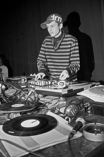Dj Rafik, Stadtgarten, Turntablejazz